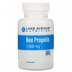 Прополис, Bee Propolis Extract 5:1, Lake Avenue Nutrition, 1000 мг, 90 капсул