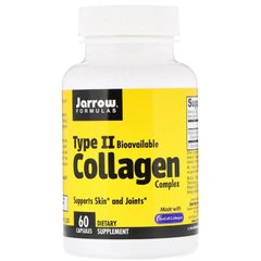Коллаген комплекс II типа, Type II Collagen, Jarrow Formulas, 500 мг, 60 капсул