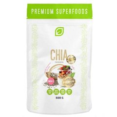 Семена Чиа, Chia Seed, Premium Superfood, 500 грамм
